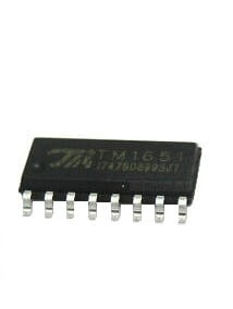 TM1651 SOP16 - kontroler LED 7 segm.